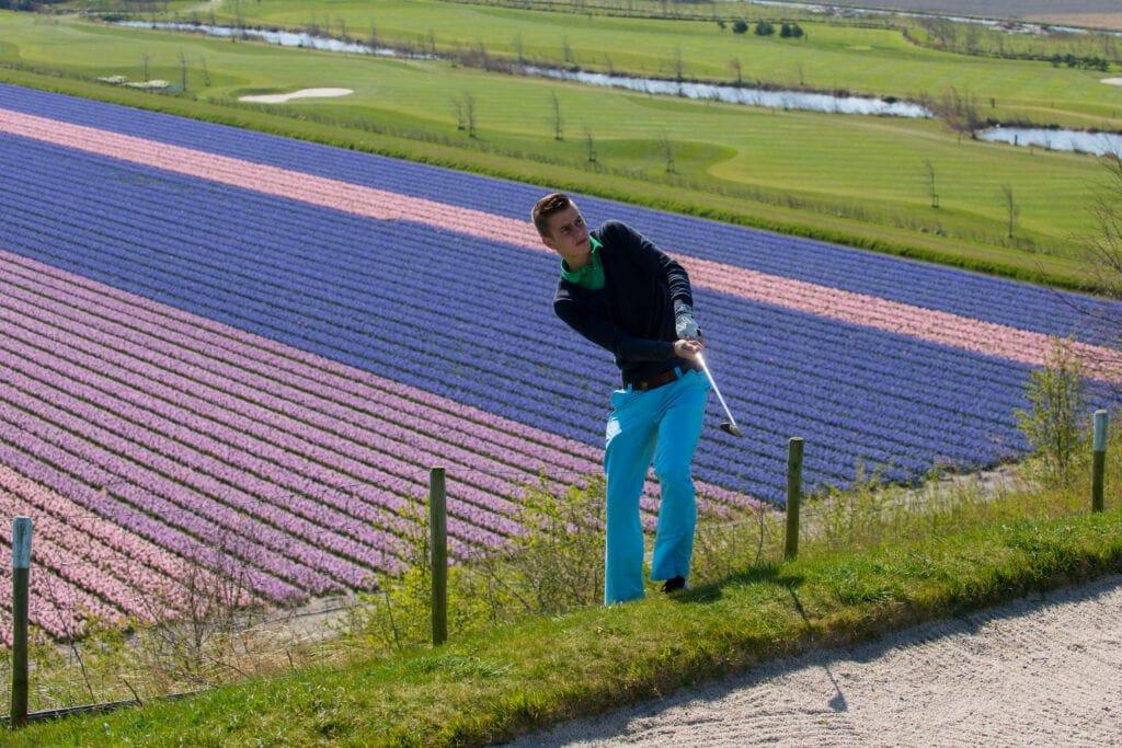 Bloembollenbaan Noordwijkerhout - Leren golfen