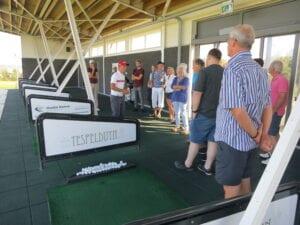 Kennismaken met golf - driving range les - Golfschool Tespelduyn